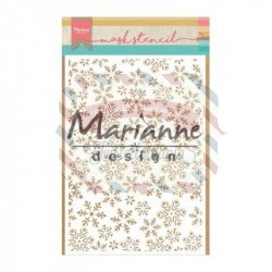 Stencil Marianne Design ice crystal