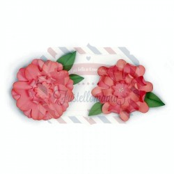 Fustella Sizzix Bigz Flowers with Leaves