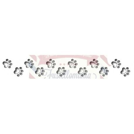 Fustella metallica Impronte cane