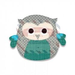 Fustella Sizzix Bigz Owl by Debi Potter