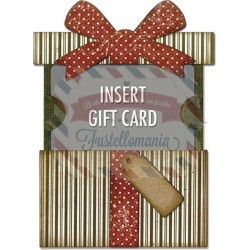 Fustella Sizzix Thinlits Gift card package by Tim Holtz