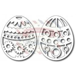 Fustella metallica Uova di Pasqua 2