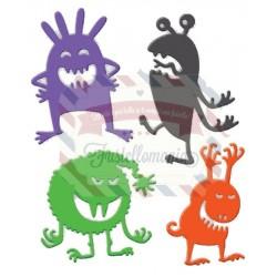 Fustella metallica Monsters