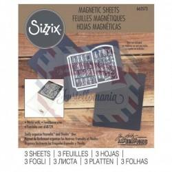 Sizzix Magnetic sheets 3 fogli 12x15