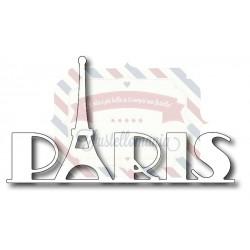 Fustella metallica Scritta Paris