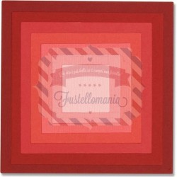 Fustella Sizzix Framelits square frames