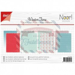 Carta da scrapbooking Joycrafts Paper Set A4 Wintertime