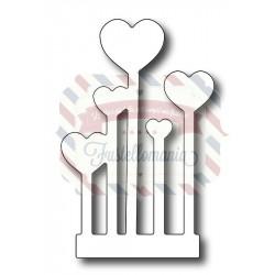 Fustella metallica Giardino San Valentino