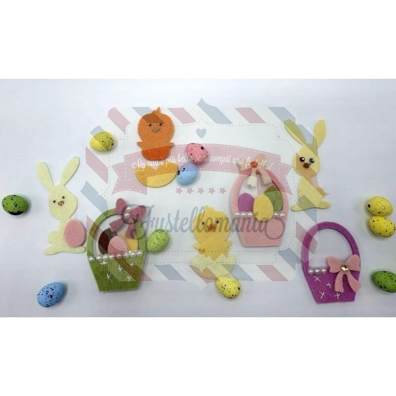 Fustella l decorazioni per uova di pasqua - Uova di pasqua decorazioni ...
