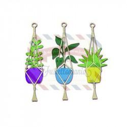 Fustella Sizzix Thinlits Hanging Planter