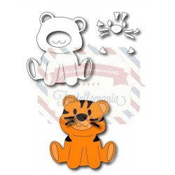 Fustella metallica Tigre