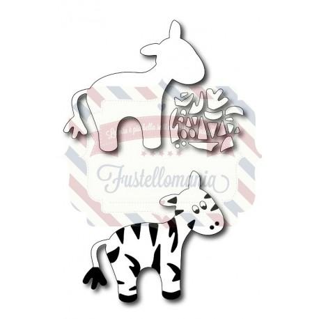 Fustella metallica Baby zebra