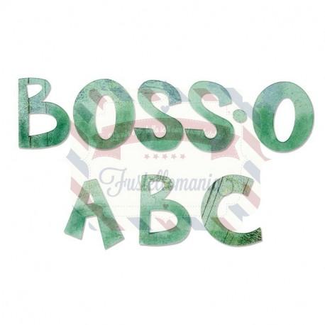 Fustella Sizzix Boss - O maiuscolo