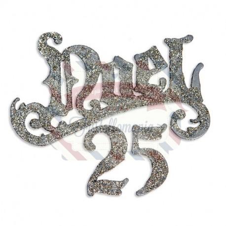 Fustella Sizzix Bigz Tim Holtz Noel 25