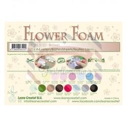 Fommy Leane Creatief per fiori 0,8 mm in fogli A4 10 pezzi colore Brown