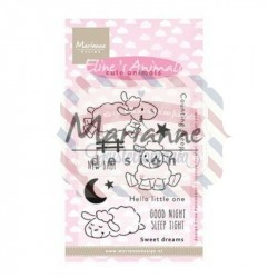 Timbri Marianne Design Clear Stamps Eline's cute animals sheep