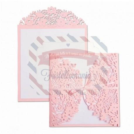 Fustella Sizzix Thinlits floral edges