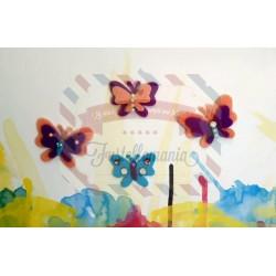 Fustella M Farfalline colorate