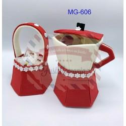 Fustella XL Moka porta cialde e cestino porta zucchero