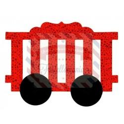 Fustella Sizzix Bigz Vagone treno