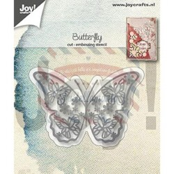 Fustella metallica Joy! Crafts Cutting & Embossing Butterflies