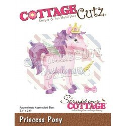 Fustella metallica Cottage Cutz Princess Pony