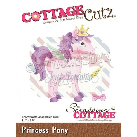 Fustella metallica Cottage Cutz Princess Pony