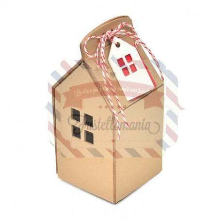 Fustella Sizzix BIGZ L House Ornament