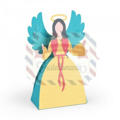 Fustella Sizzix BIGZ L Angel box