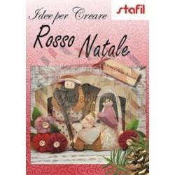 Libro idee per creare rosso Natale