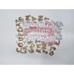 Fustella metallica Alfabeto maiuscolo Cut 8