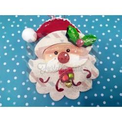 Fustella XL Viso Babbo Natale