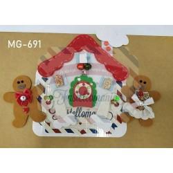 Fustella XL Casetta gingerbread e Ginger