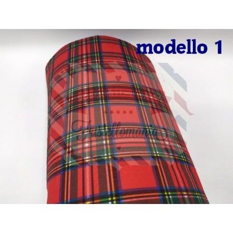 Pannolenci scozzese 50x50 cm.