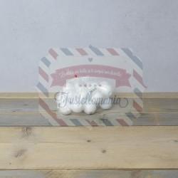 Palline di polistirolo 70 mm. 10 pezzi
