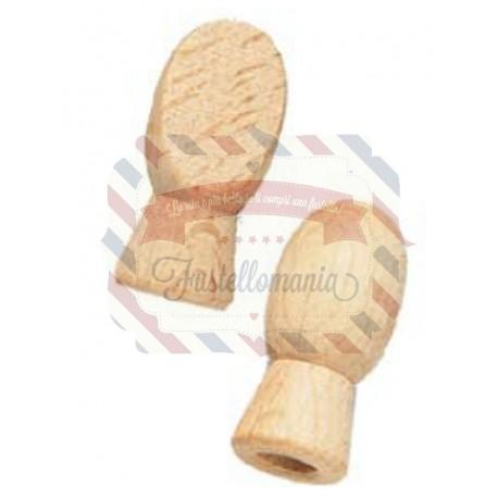 Mani di legno 15x32 mm coppia