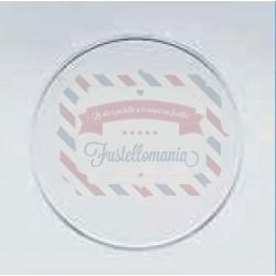 Separatore per sfera di plastica trasparente apribile da 16 cm