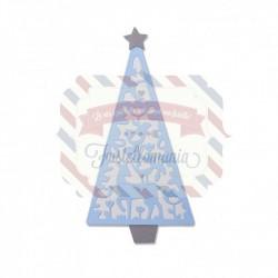 Fustella Sizzix Thinlits Folk Christmas