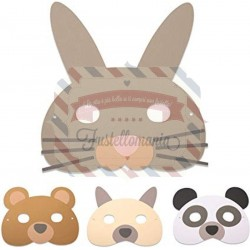 Fustella Sizzix BIGz L Animal Mask by Laura Kate