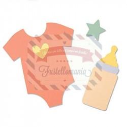 Fustella Sizzix Bigz Nursery by Jennifer Ogborn