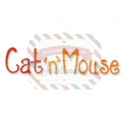 Fustella Sizzix Sizzlits Cat and Mouse