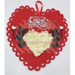 Kit fustellati Cuore San Valentino