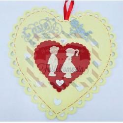 Kit fustellati Bimbi in Love San Valentino