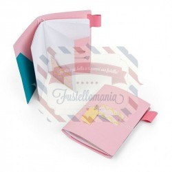 Fustella Sizzix BIGz XL traveler's notebook pages