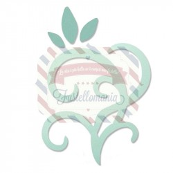 Fustella Sizzix Bigz leaves & swirls