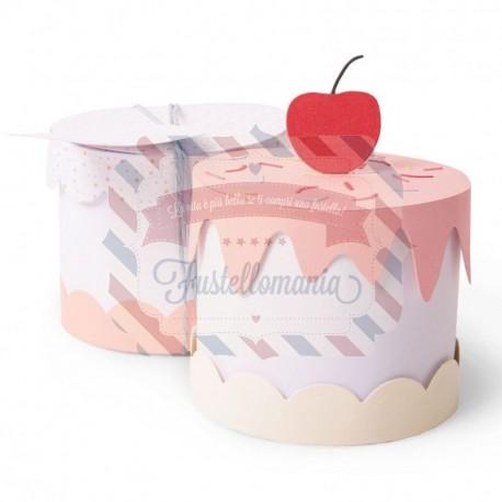 Fustella Sizzix Thinlits set 11pk cake box