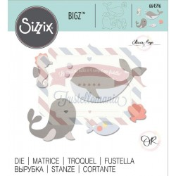 Fustella Sizzix Bigz Ocean friends