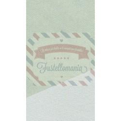 Primette tessuto colore verde salvia latte 48x50 cm
