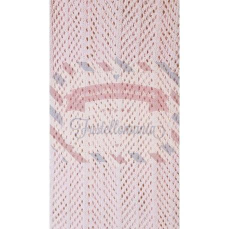 Tubolare barré colore rosa baby 50 cm