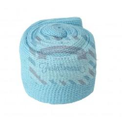 Tubolare mini colore azzurro 3,5x100 cm